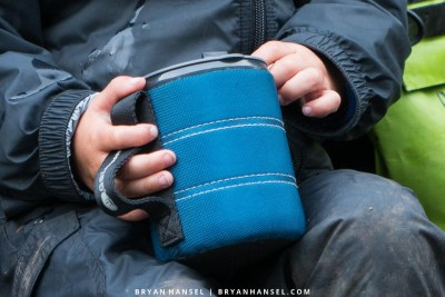 GSI Outdoors Infinity Backpackers Mug in a kid's hands