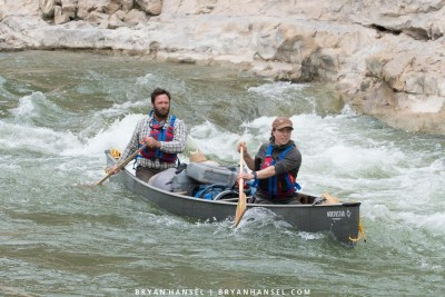 whitewater on the Rio Grande