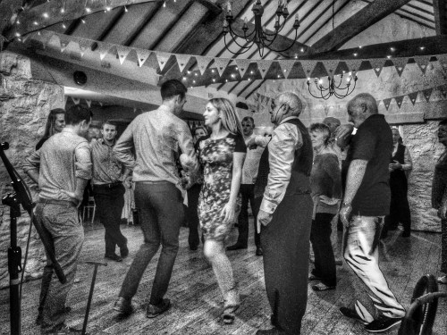 Matt and Rebecca's Wedding Ceilidh at Bickley Mill, Devon