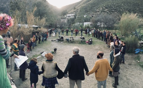 Boxing Day Ceilidh In Andalusia, Spain