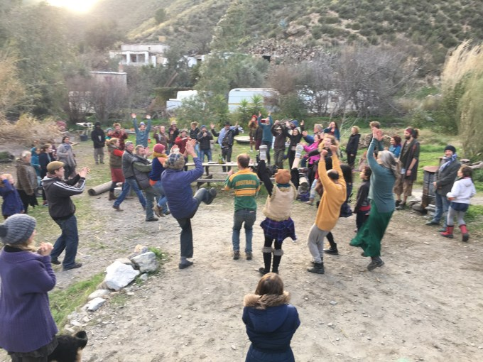 Boxing Day Barn Dance In The Alpujarras, Spain