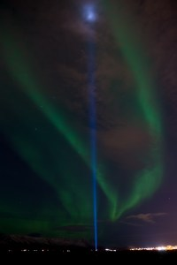 Aurora Borealis and The Peace Light