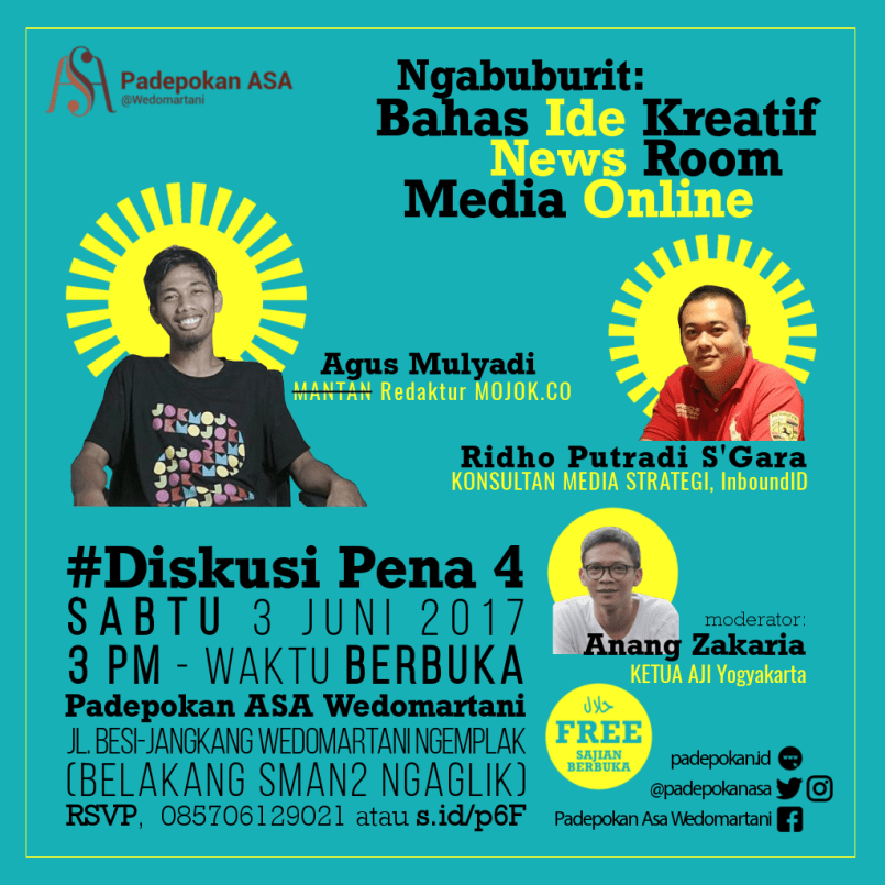 Ngabuburit: Bahas Ide Kreatif News Room Media Online