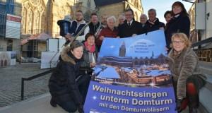 Weihnachtssingen unterm Domturm Paderborn