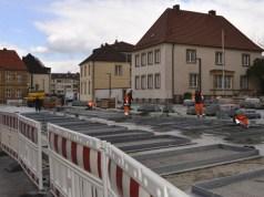 Neugestaltung Dom und Marktplatz Paderborn Mai 2018