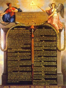 Deklaracija prava - francuska revolucija