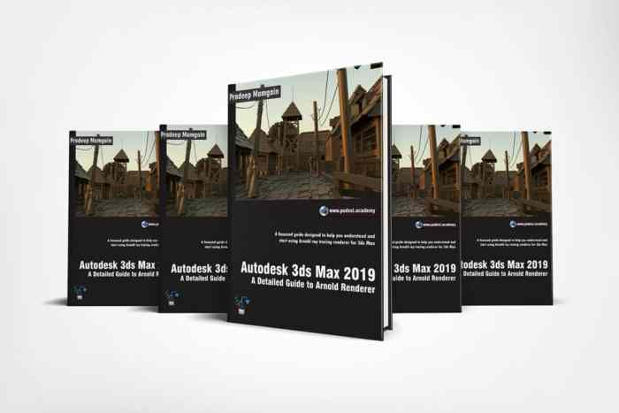 3ds Max 2019 Book - Autodesk 3ds Max 2019: Arnold Essentials
