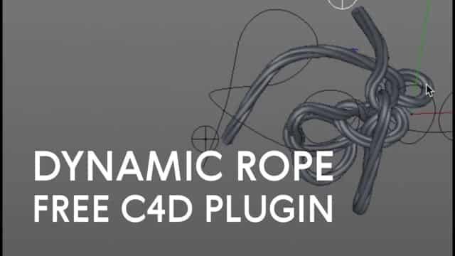 Free Plugin: HoRope – Create Dynamic Rope from Splines