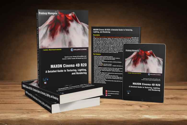 Book – MAXON Cinema 4D R20: A Detailed Guide to Texturing, Lighting, and Rendering