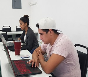 """A """"mapathon"""" exercise with Galaden University students."""