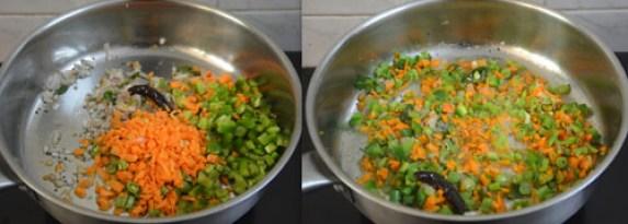 dalia vegetable upma recipe