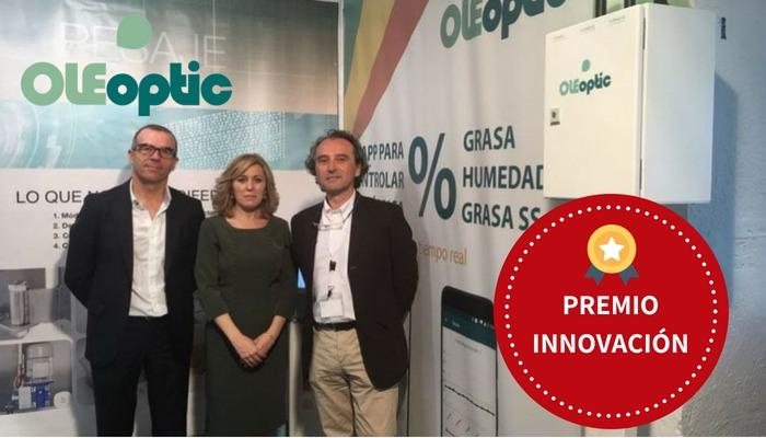 OLEoptic galardonado en XVI Concurso de Innovación y Transferencia Tecnológica. Feria del Olivo Montoro