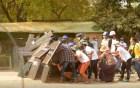 বিক্ষোভে লাখো মিয়ানমারবাসী, গুলি ছুড়ছে পুলিশ