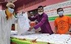 পাবনাতে ৪০০ দুস্থ মানুষের মাঝে ছাত্রলীগ নেতা সোহাগের ঈদ উপহার ও ইফতার বিতরণ