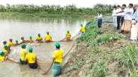 শিবগঞ্জে জাতীয় পুরস্কারের জন্য মৎস্য খামার পরিদর্শন