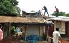 প্রশাসনের অভিযানে ভাঙ্গা হলো মোহনগঞ্জ হাটের প্রভাবশালীর নির্মাণকৃত অবৈধ ঘর