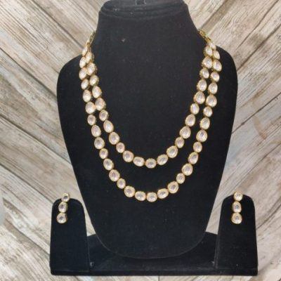 Kundan Premium Quality Long Set