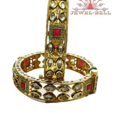 kundan jewellery in all sizes available kundan meenakari bangles online with price