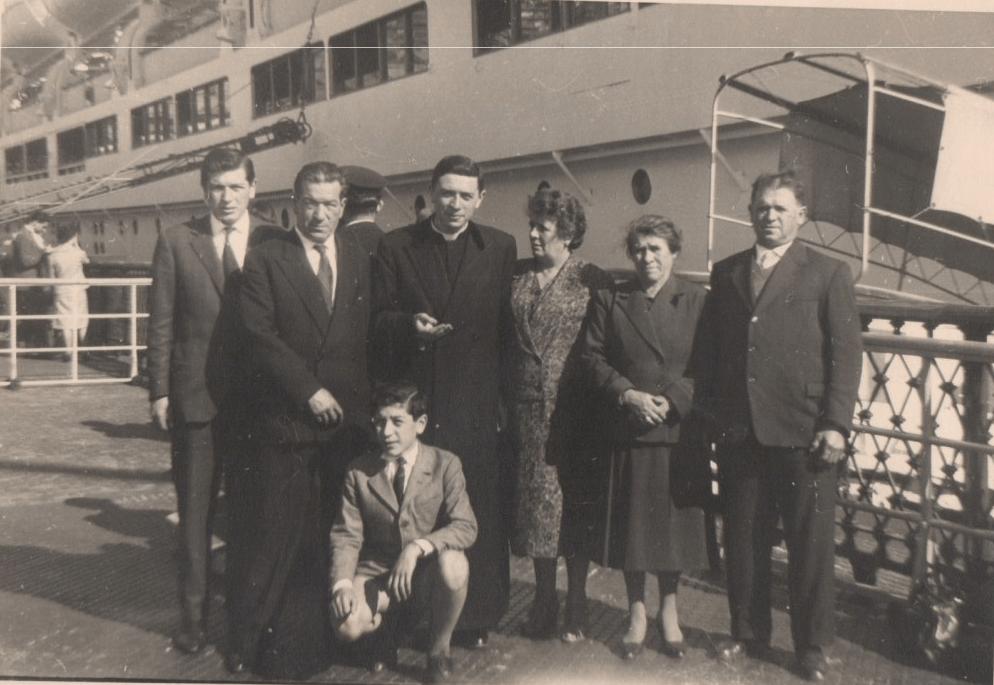 Ottobre 1960, si realizza il sogno missionario di Padre Juan