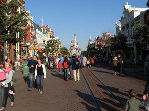 Main Street Disneyland París