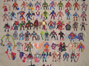 Personajes varios de los Masters del Universo