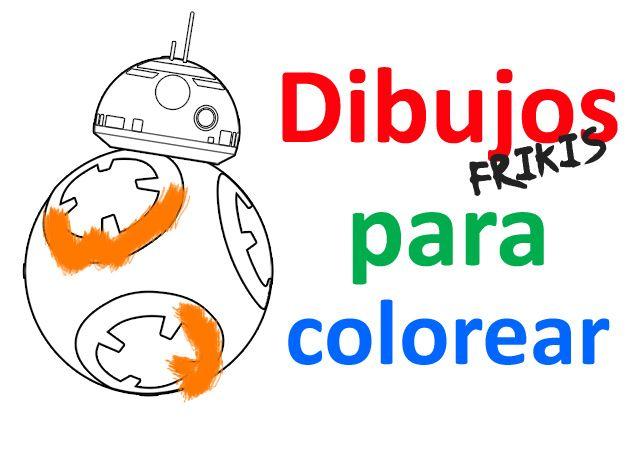 Dibujos Para Colorear Star Wars El Despertar De La Fuerza: Dibujos Para Colorear Online