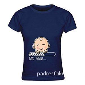 camiseta divertida embarazo