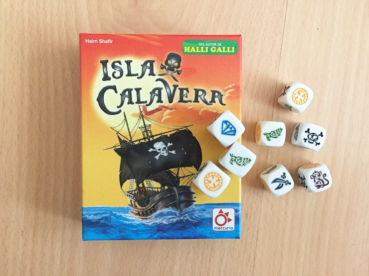 Isla Calavera juego mesa