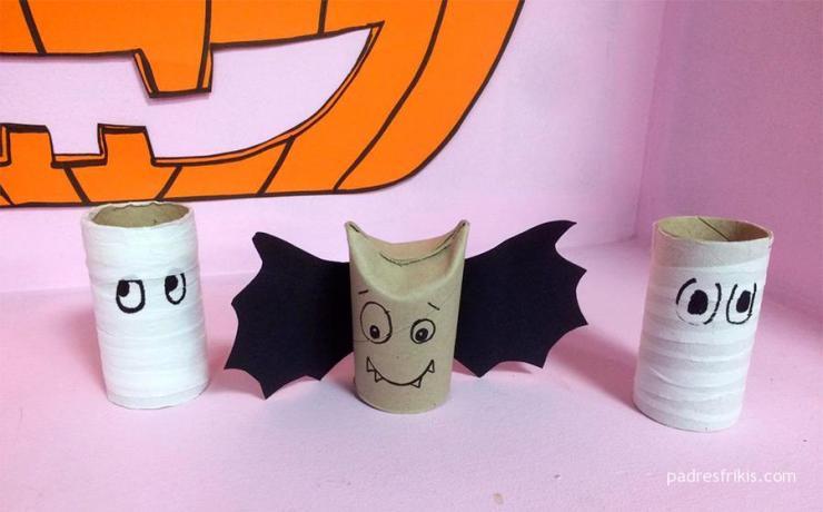 Manualidades Halloween niños: monstruos