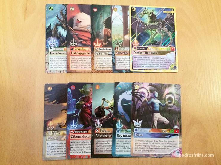 Tribus de Fantasy Riders