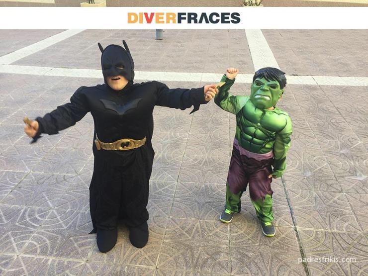 disfraces superheroes infantiles