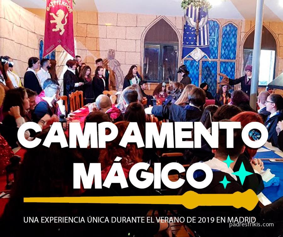 Campamento Mágico El Campamento Para Niños De Harry Potter Padres