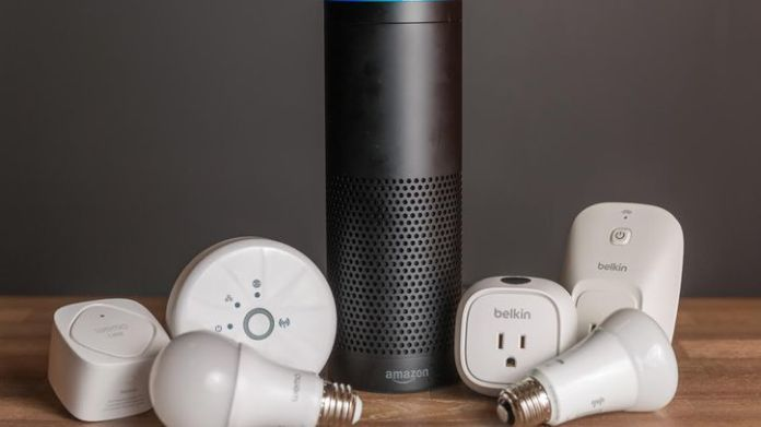 amazon echo wemo philips hue jpg. Alexa can control your TV with a Logitech Harmony  Here s how