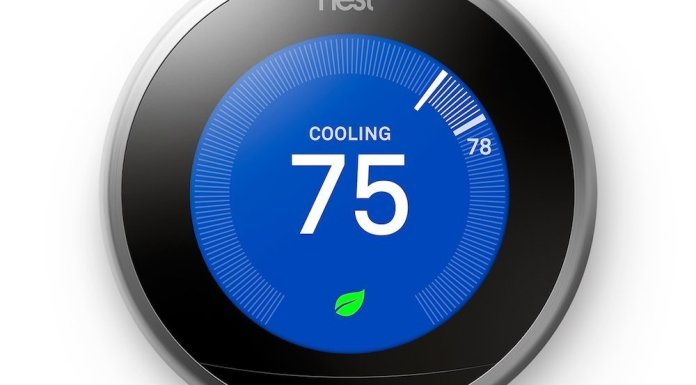 NEST thermostat set to cool