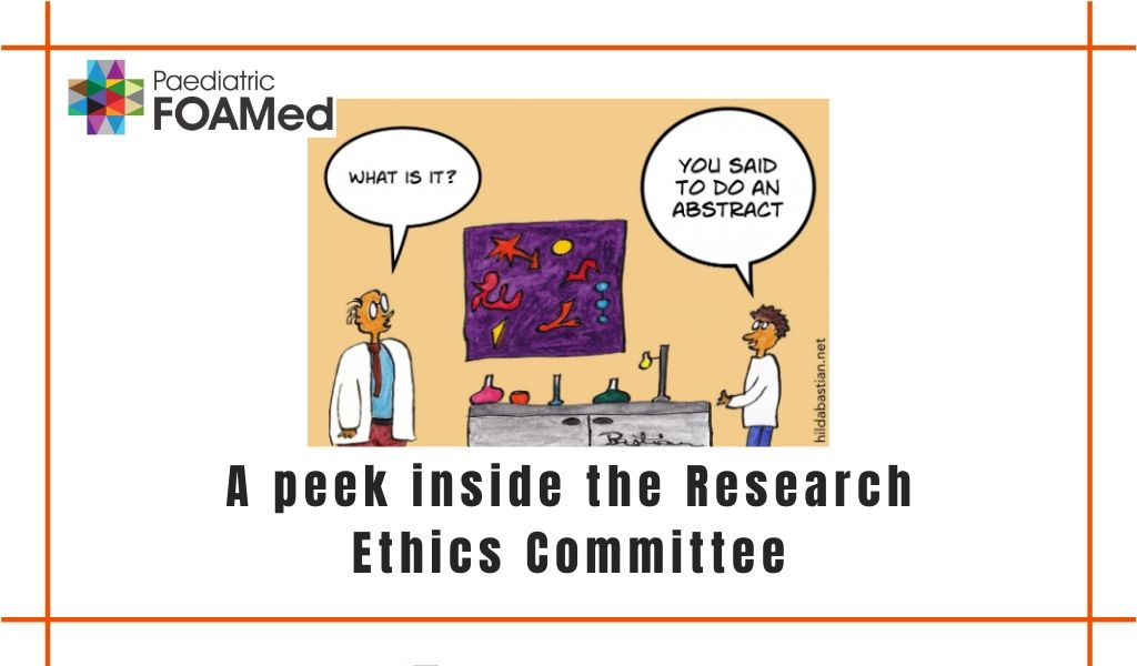 A peek inside the Research Ethics Committee