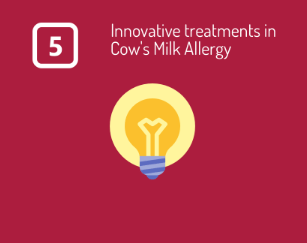 innovative treatments in cow's milk allergy