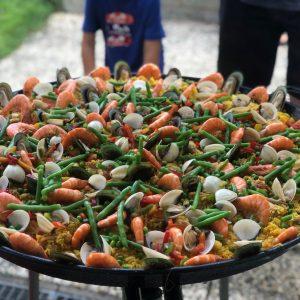 Paella Mix mit Meeresfrüchte & Hähnchen