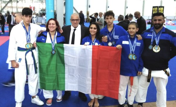 Piedimonte Matese – Campionato a Marina di Carrara, 15 podi conquistati per gli atleti della WTKA del team Ren Bu Kan - Paesenews