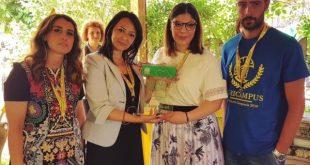 Castello del Matese – L'assessore al Lavoro, Sonia Palmeri consegna gli Oscar Green ai giovani imprenditori agricoli della Campania
