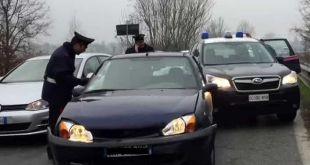 Pignataro Maggiore – Fugge all'alt dei Carabinieri, inseguito e arrestato un 55enne del posto