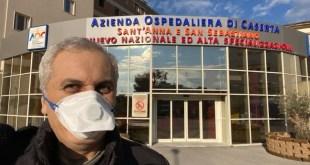 """Caserta/Teverola – Caputo guarito dal Coronavirus: """"torno a casa ad abbracciare la mia famiglia"""""""