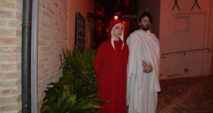 """SPARANISE – """"L' Inferno di Dante"""", i ragazzi del Foscolo lo portano in scena al Teatro Ricciardi"""