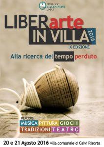 Locandina LiberArte in villa 2016 (1)