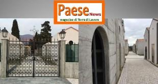 Piedimonte Matese – Lavori difformi dal progetto: sequestrato ampliamento del cimitero