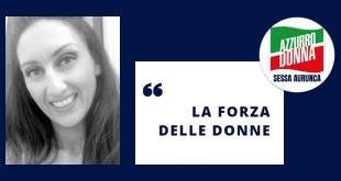 """Sessa Aurunca – Nasce in città il movimento """"Azzurro Donna"""", il lato femminile di Forza Italia"""
