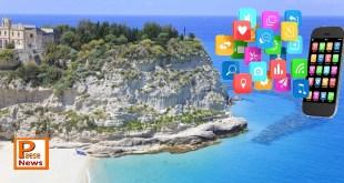 app turismo calabria spiaggia cellulare smartphone