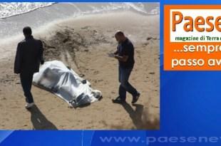 cadavere mare uomo morto
