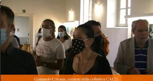 """Casagiove – Collettiva """"CAI 21"""": 100 artisti in mostra (guarda il video)"""