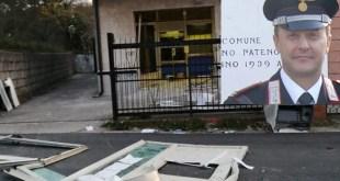 Caianello – Furto alle Poste, ladri inseguiti  buttano la cassaforte per strada
