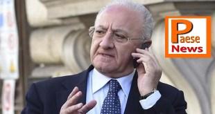 """Regione Campania – Il governo stoppa De Luca:  """"improponibile realizzare misure limitate a una sola regione"""""""